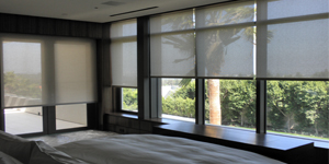 Off White Roller Shades