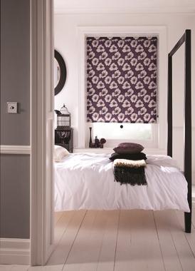 Bedroom roller shades