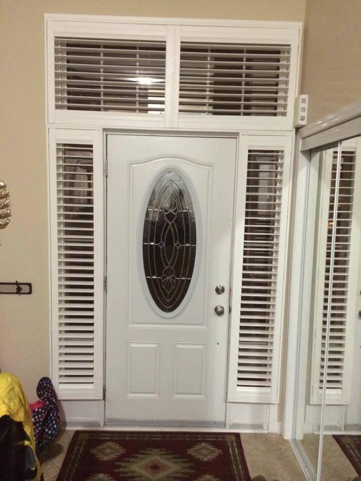 Shutters Front Door & Sides
