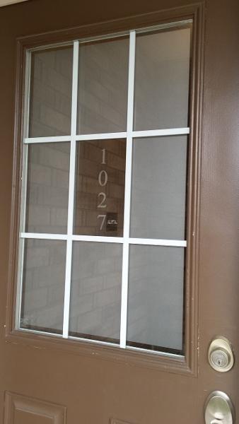 Front Door Frosting