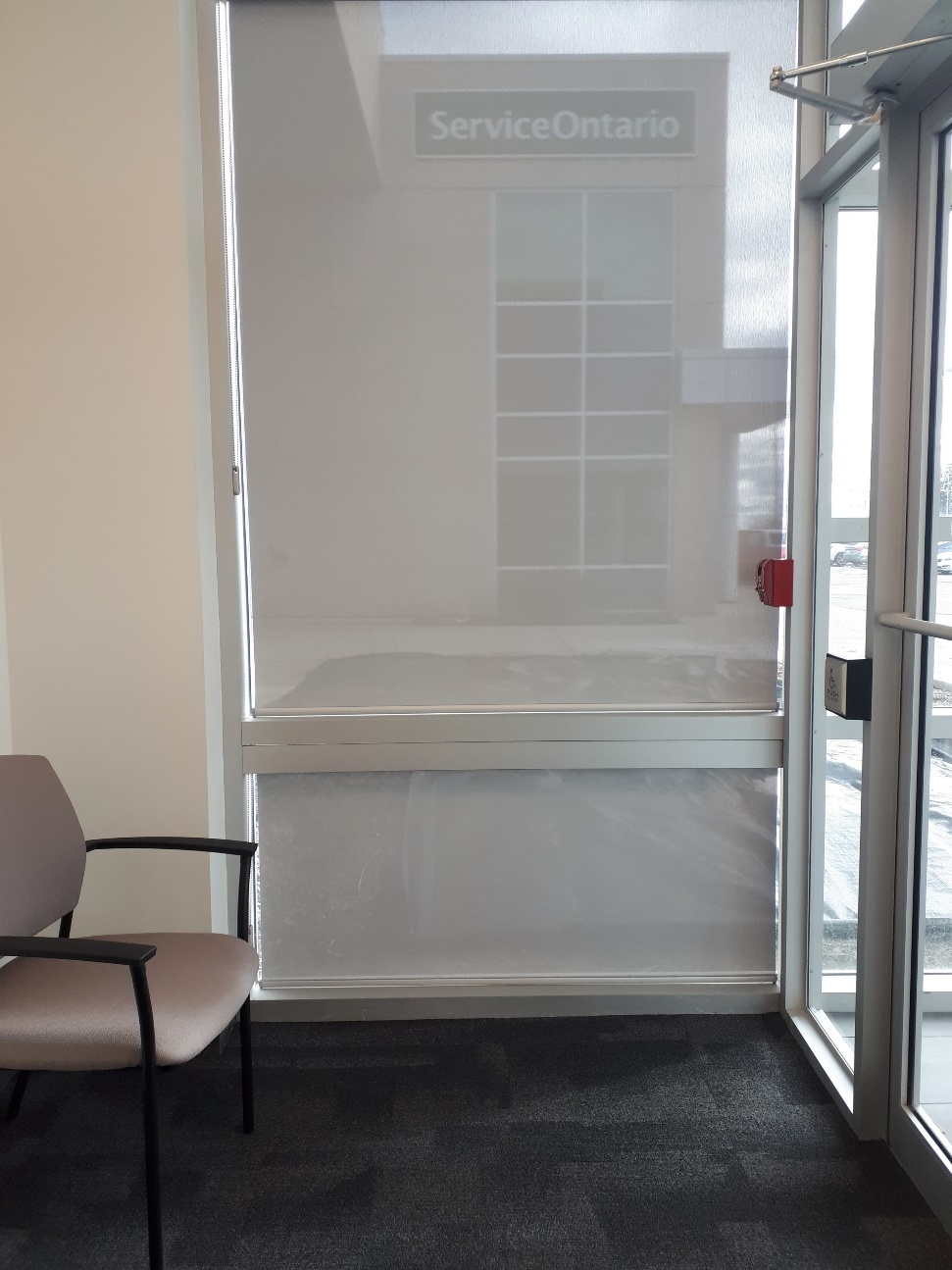 Commercial Roller Shades Milton