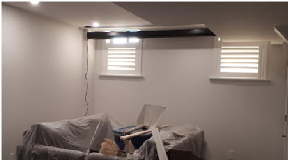 basement window covering