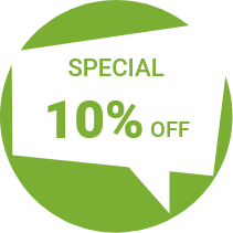Special 10% off