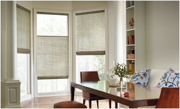 wooven window shades