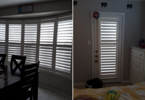 Eclipse Kitchen Bow Window Shutters