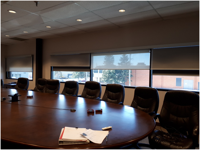 Conference Room Roller Shade