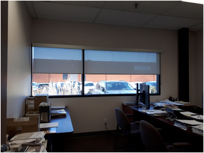 Office Roller Shades