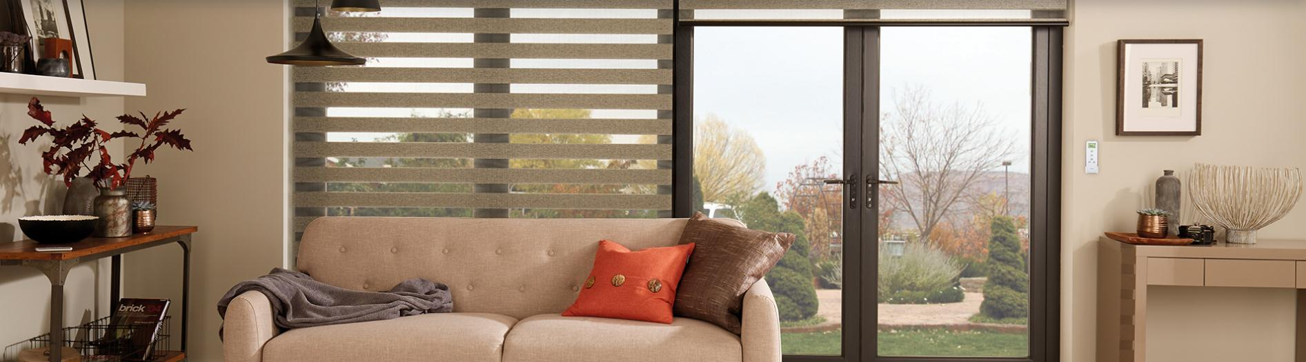 Zebra Blinds in Milton